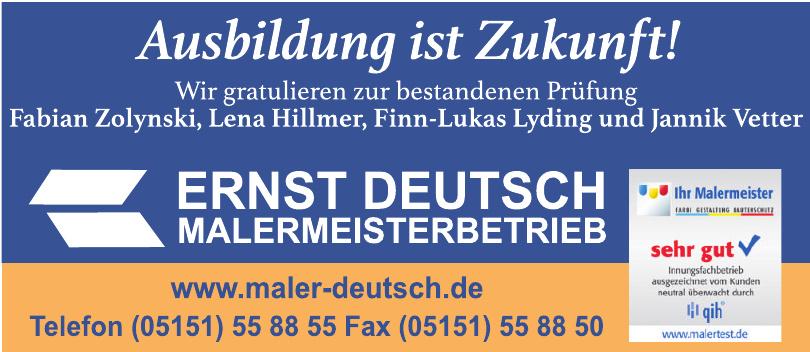 Ernst Deutsch Malermeisterbetrieb