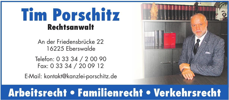 Tim Porschitz Rechtsanwalt