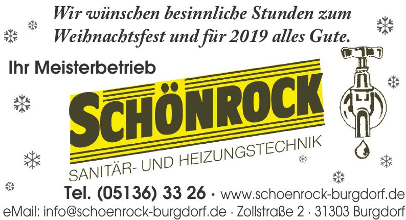Schönrock Sanitär- und Heizungstechnik