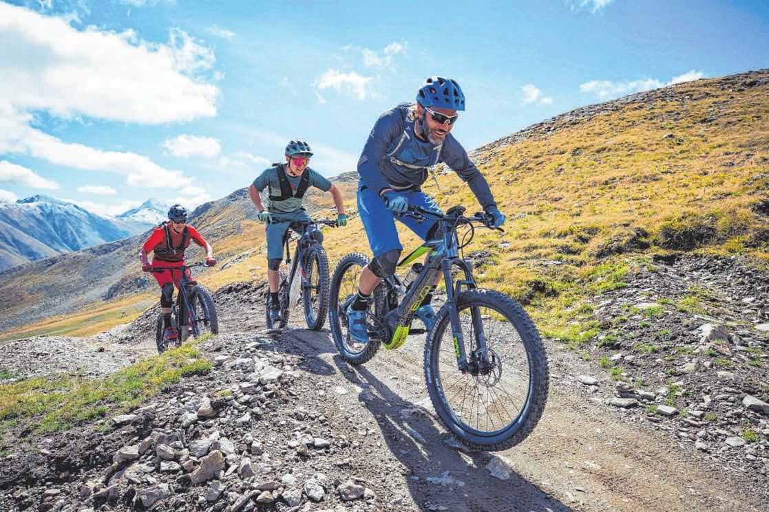Die Deutschen freuen sich auf die nächste rasante MountainbikeTour. Damit keine Beschwerden das Vergnügen trüben, sollte vor allem der Sattel richtig eingestellt sein. FOTO: ZEG