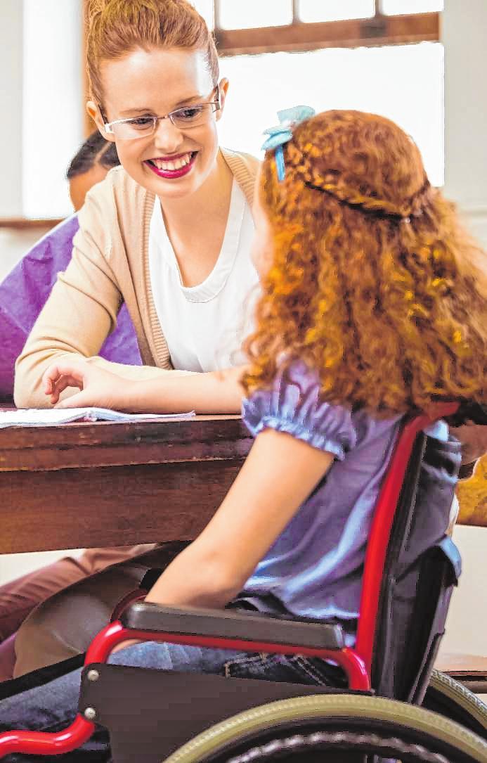 Aktive Pflege für junge Menschen
