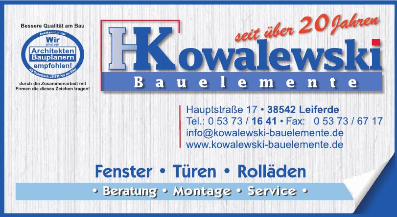 Kowalewski Bauelemente