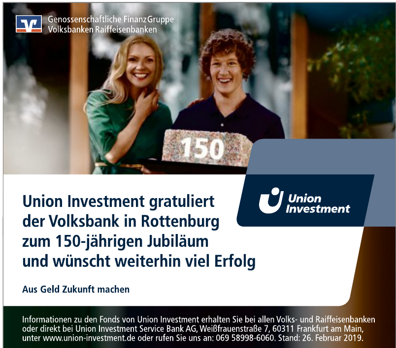 Union Investment - Union Investment Service Bank AG