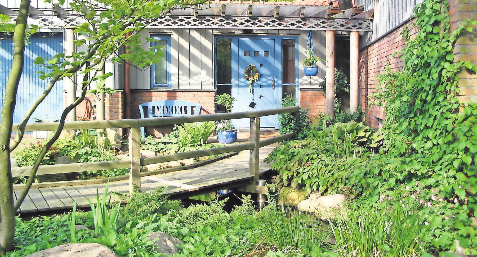Gärten von Rüdiger Beensen haben einen außergewöhnlichen Charakter.
