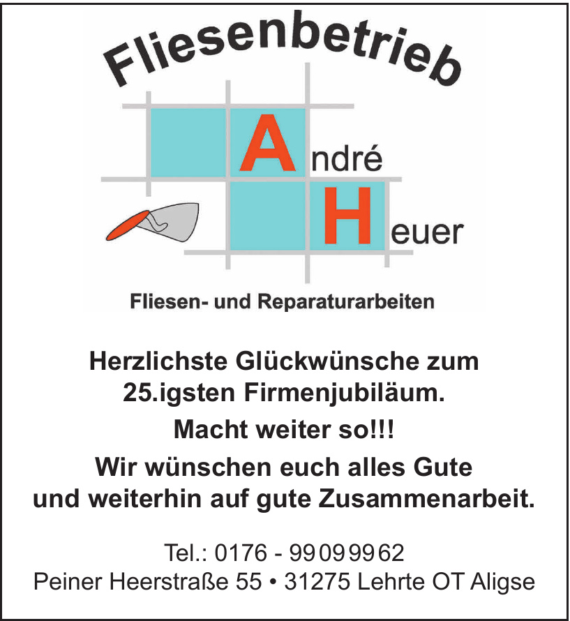 Fliesenbetrieb André Heuer