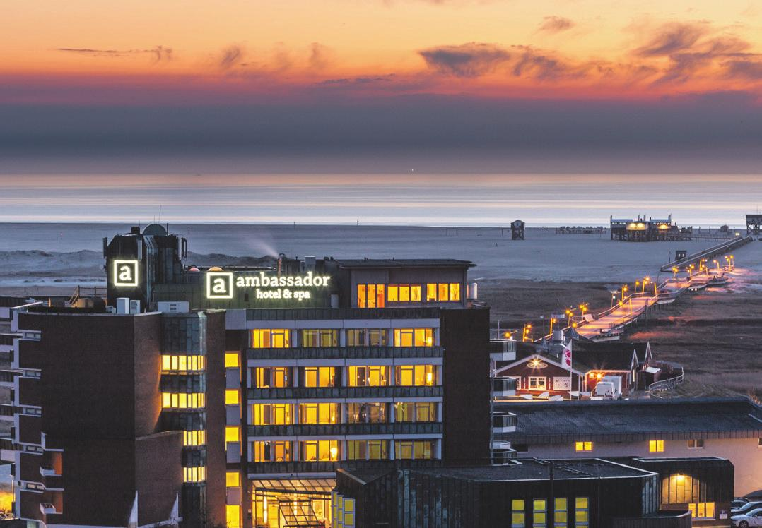 4-Sterne-Superior Hotel direkt am Meer. Foto: ambassador hotel & spa