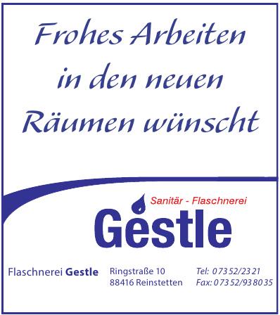 Flaschnerei Gestle