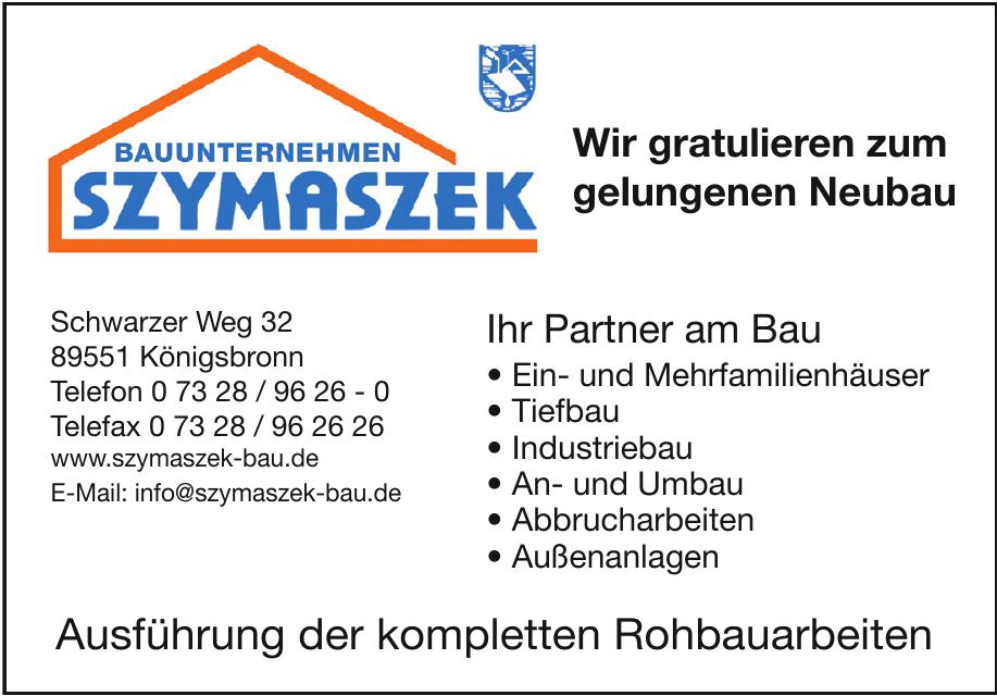 Bauunternehmen Szymaszek