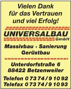 Universalbau GmbH