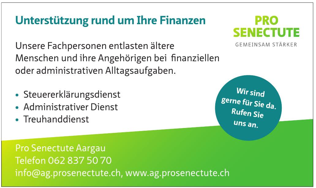 Pro Senectute Aargau