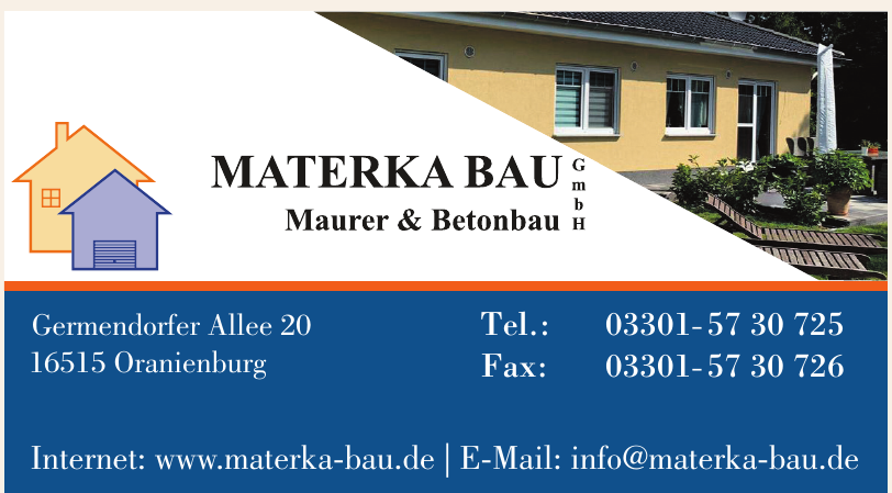 Materka Bau Maurer & Betonbau GmbH