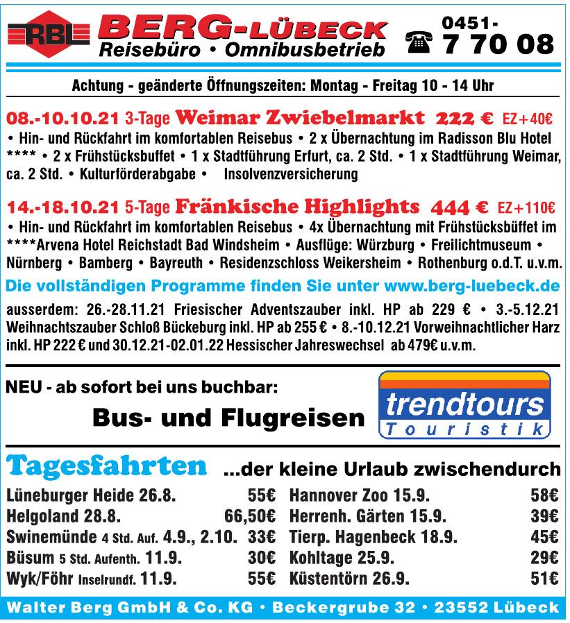 Reisebüro Walter Berg GmbH & Co. KG