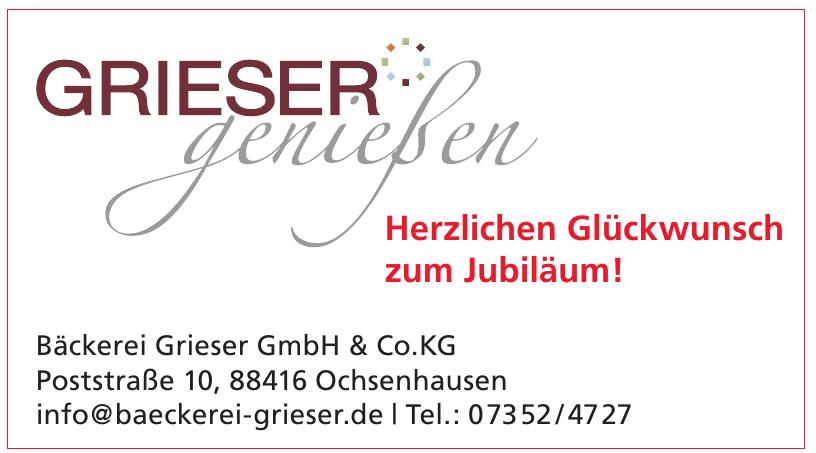 Bäckerei Grieser GmbH & Co.KG