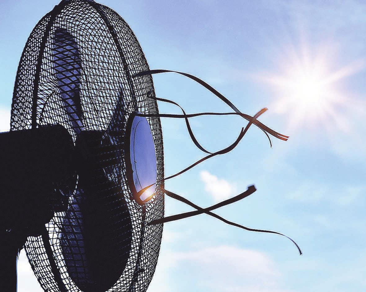 Der Klassiker bei heißen Temperaturen: Der Tischventilator. Foto: Pixabay.com
