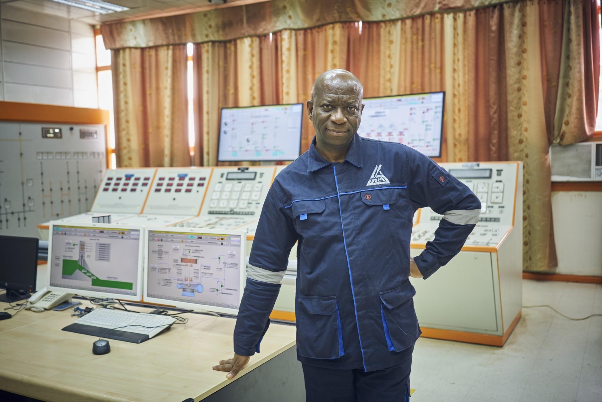 Willy Ndala Makangela,<div>Direktor von Inga 1, SNEL.</div>