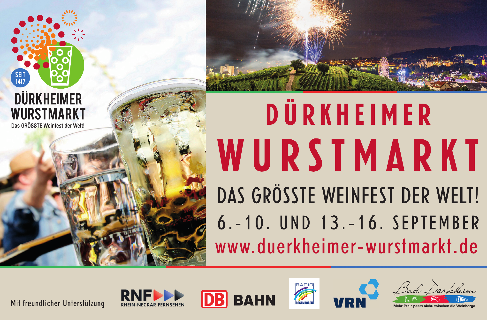 Dürkheimer Wurstmarkt