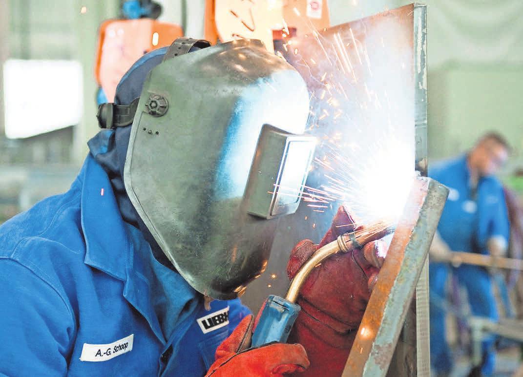 Berufe in der Metallbranche bieten langfristig gute Aussichten auf dem Arbeitsmarkt. FOTO: DPA