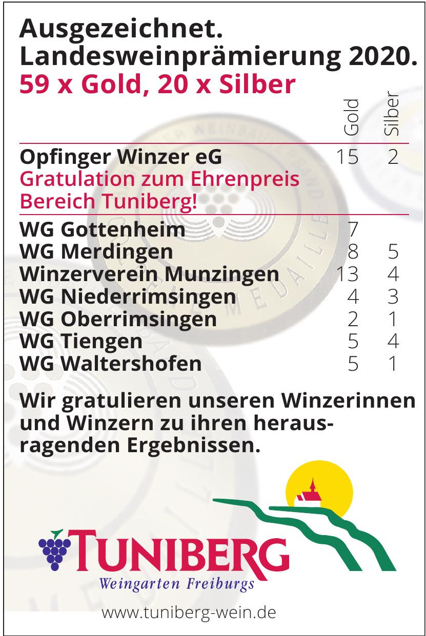 Tuniberg Weingarten Freiburgs
