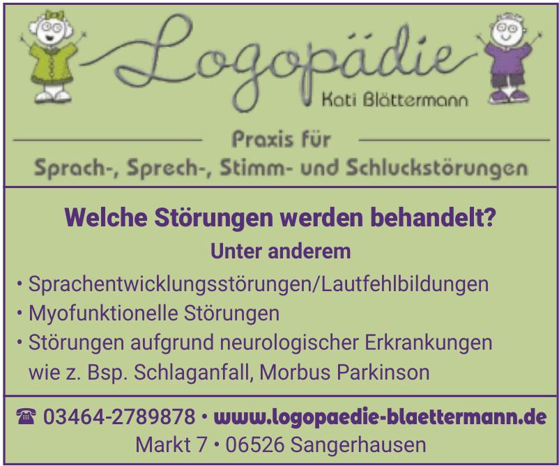 Logopaedie Kati Blättermann