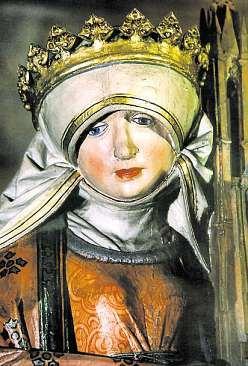 4 Die heilige Elisabeth, Skulptur von Ludwig Juppe, 1510 Foto: Erhart Dettmering