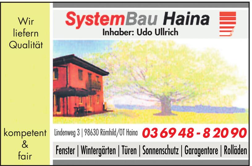 SystemBau Haina