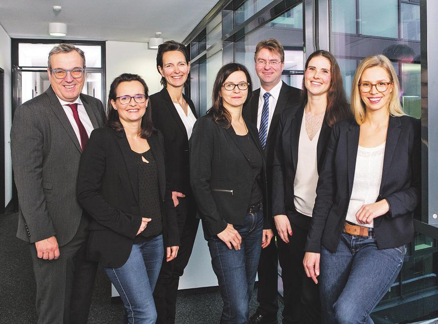 Das Expertenteam der WLH (von links): René Meyer, Sonja Vent, Kerstin Helm, Anne Schneider, Jens Wrede, Jennifer Coordes, Anna Daburger
