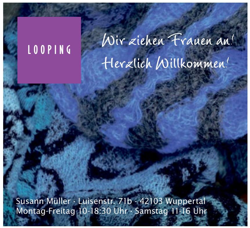 Looping - Mode in der Luisenstraße
