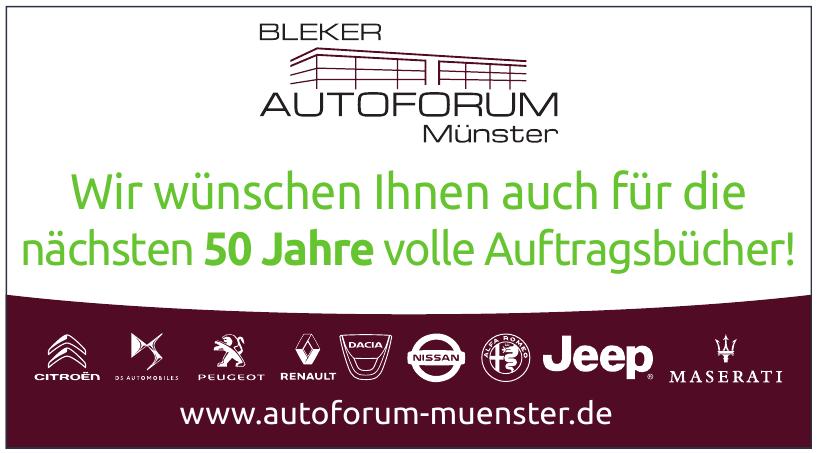 Bleker Autoforum Münster