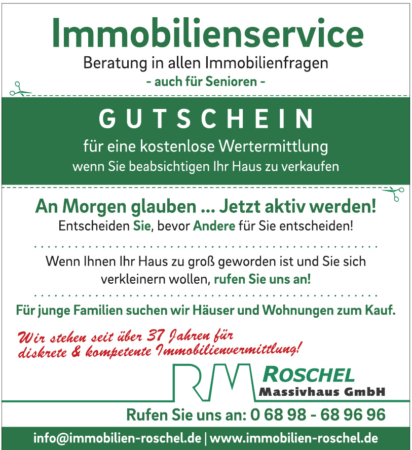 Roschel Massivhaus GmbH/Immobilien