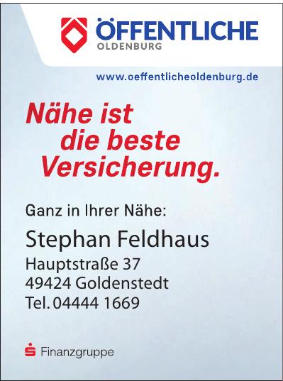 Öffentlichen Oldenburg Stephan Feldhaus
