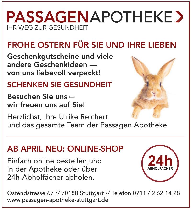 Passagen-Apotheke, Ulrike Reichert e.K.