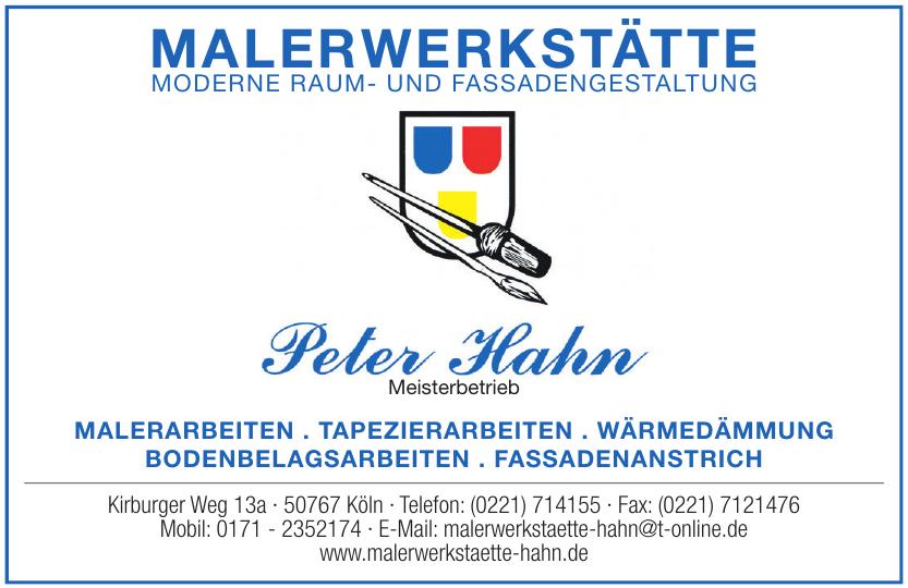Malerwerkstätte Hahn