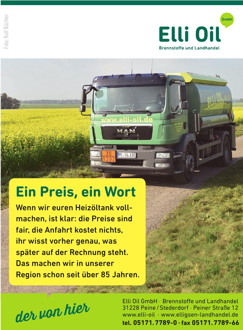 Elli Oil GmbH Brennstoffe und Landhandel