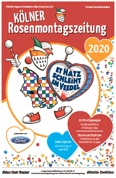 Kölner Rosenmontagszeitung 2020