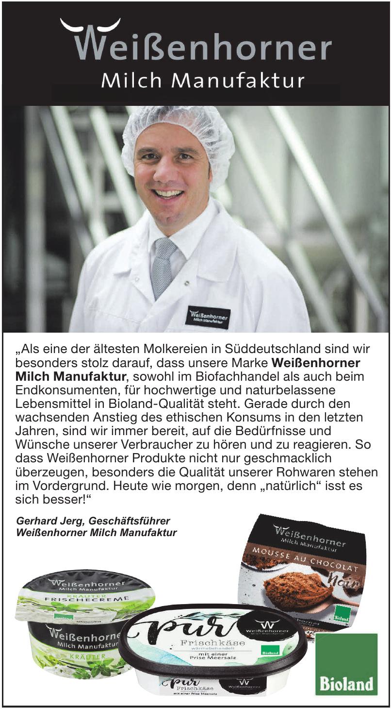 Weißenhorner Milch Manufaktur