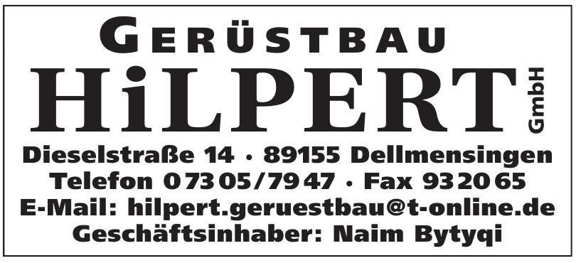 Gerüstbau Hilpert GmbH