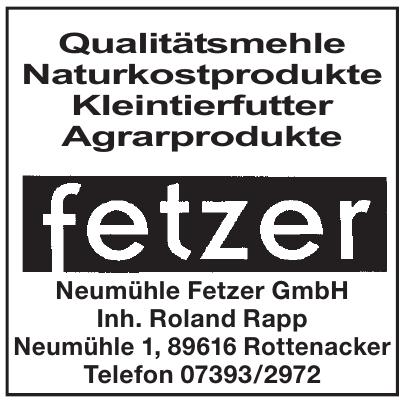 Neumühle Fetzer GmbH