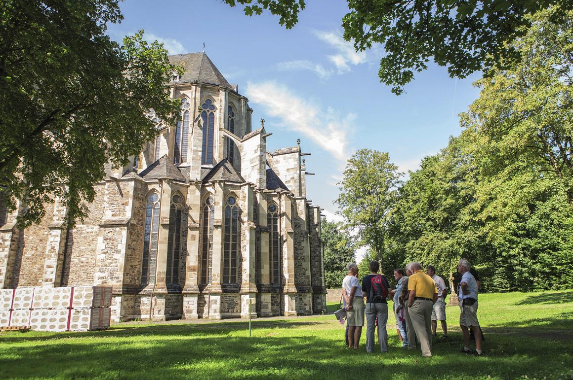 """Der Altenberger Dom wird oft auch """"Bergischer Dom"""" genannt. Foto: Cora Berndt-Stühme"""