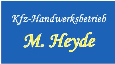 Kfz-Handwerkbetrieb M. Heyde