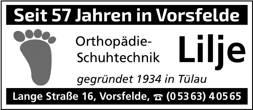 Orthopädie-Schuhtechnik Lilje