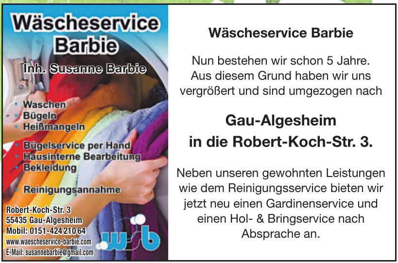 Wäscheservice Barbie