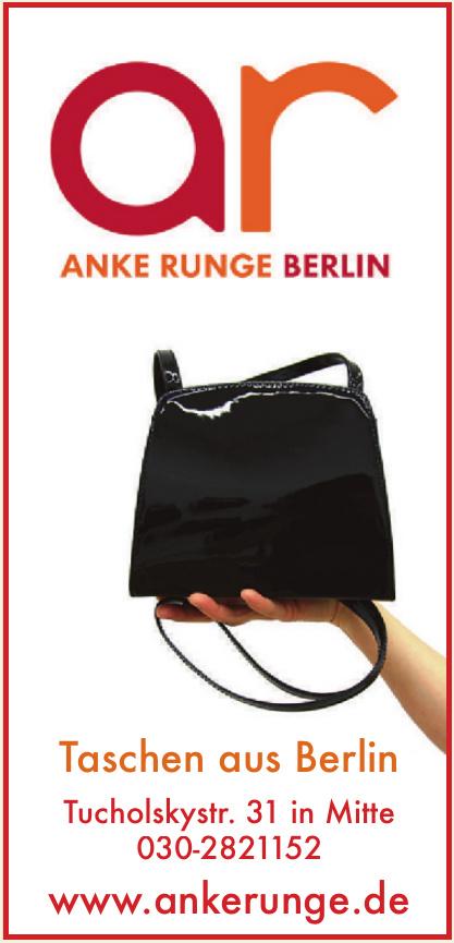 Anke Runge - Taschen aus Berlin
