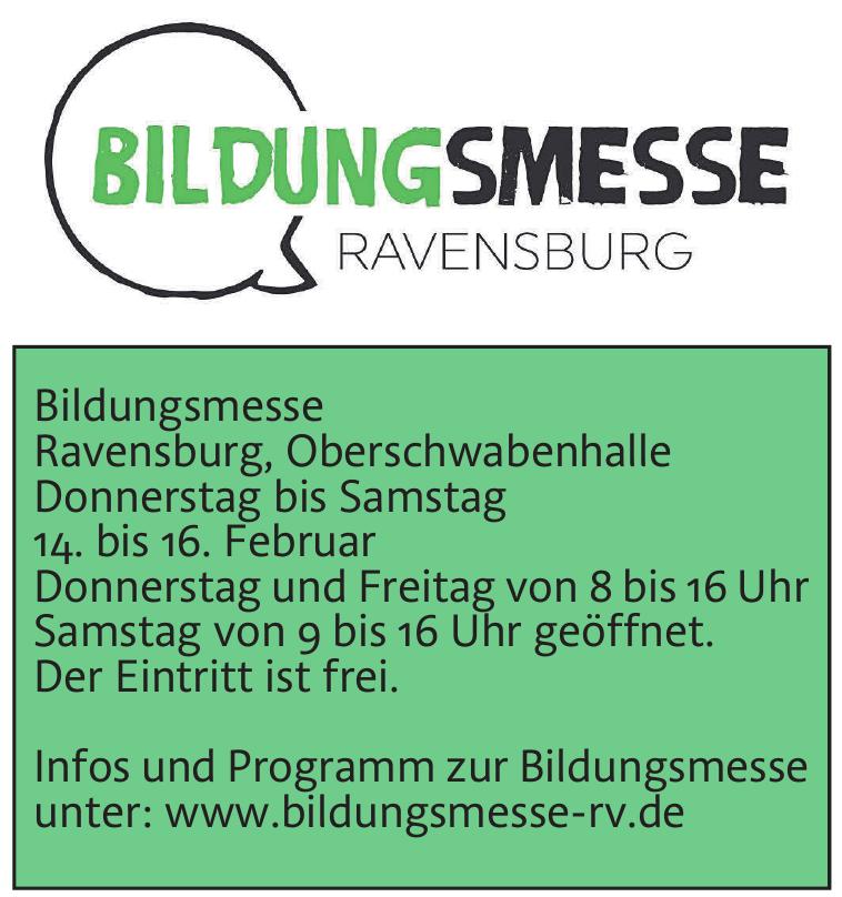 Bildungsmesse Ravensburg