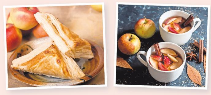 Beim Erhitzen entfaltet sich das Apfelaroma besonders gut. Es harmoniert hervorragend mit winterlichen Gewürzen wie Zimt und Vanille. Fotos (2): djd/ www.elbler.de/ Getty Images