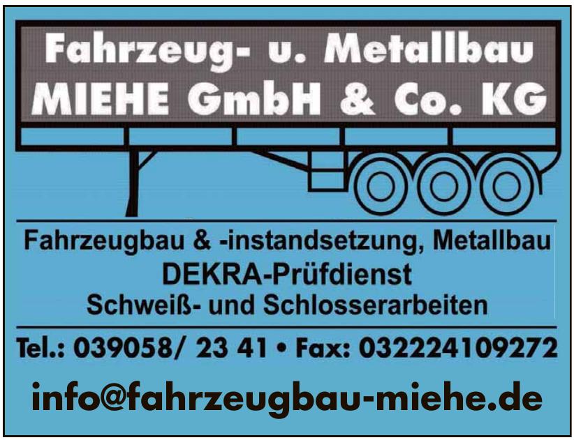 Fahrzeug- u. Metallbau Miehe GmbH & Co. KG