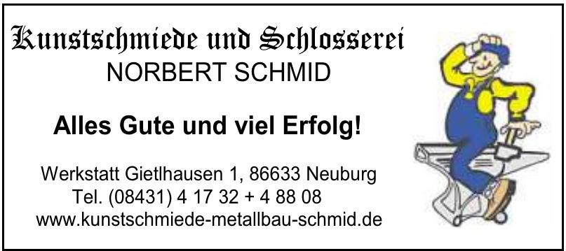Kunstschmiede und Schlosserei NORBERT SCHMID