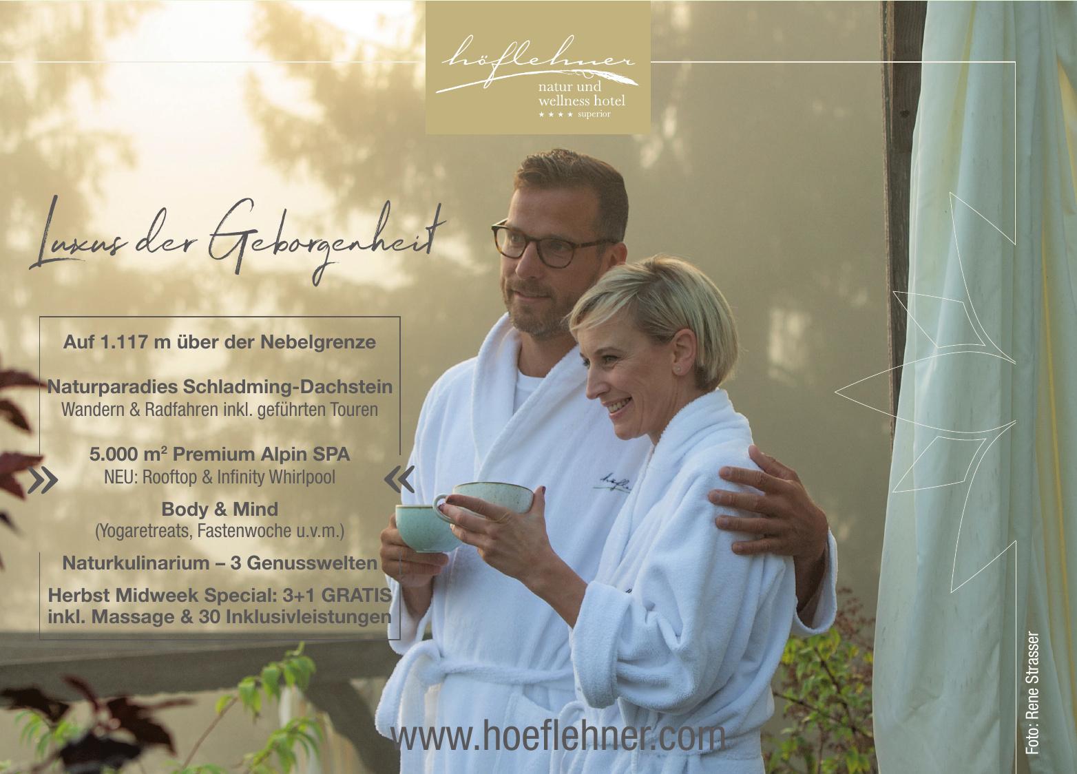 Natur- und Wellnesshotel Höflehner GmbH