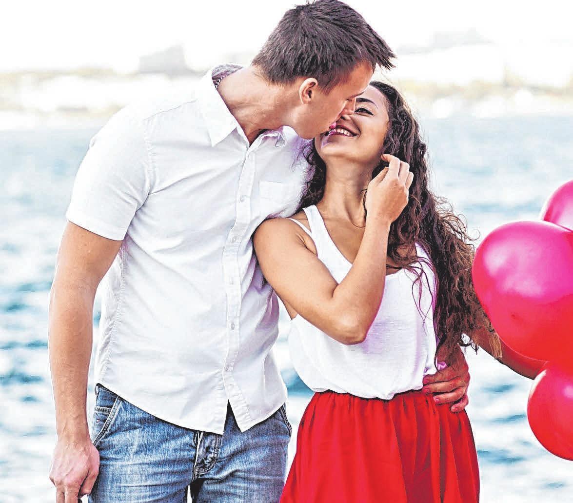 Nicht nur am Valentinstag sollte man seinen Liebsten sagen, wie gern man sie hat. FOTO: ARCHIV