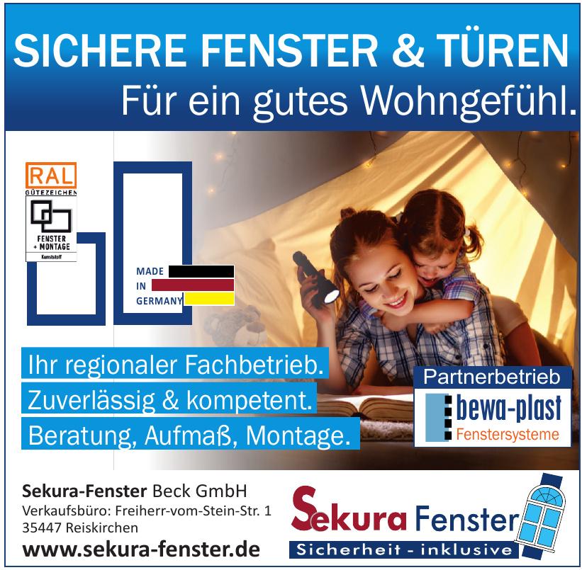 Sekura-Fenster Beck GmbH