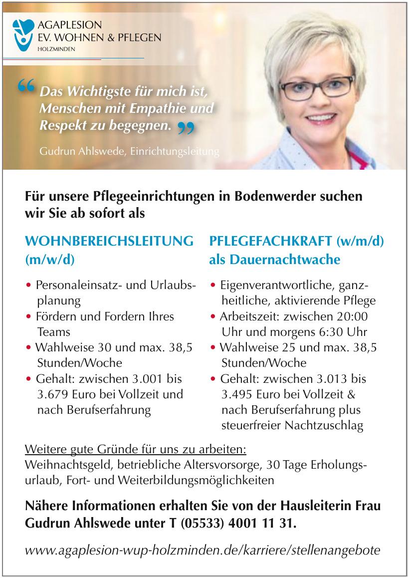 Agaplesion Ev. Wohnen & Pflegen
